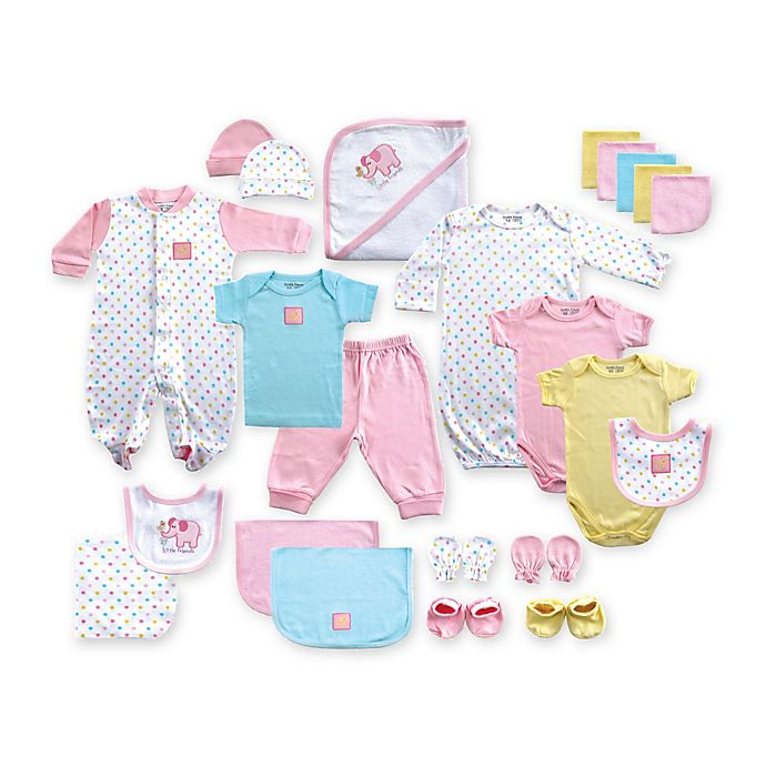 Alternate image 1 for Baby Vision® Luvable Friends® 24-Piece Deluxe Gift Cube
