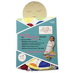Go Mama Go® Designs Snug & Tug® Small Swaddling Blanket in Rainbow Love