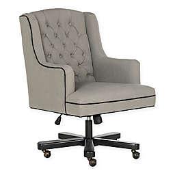 Safavieh Nicholas Adjustable Swivel Desk Chair in Black