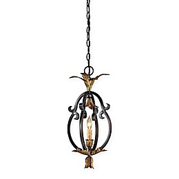 Metropolitan Montparnasse™ 1-Light Mini Pendant in French Black™