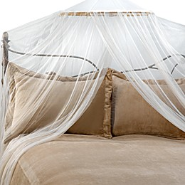 Siam Bed Canopy and Mosquito Net in Ivory