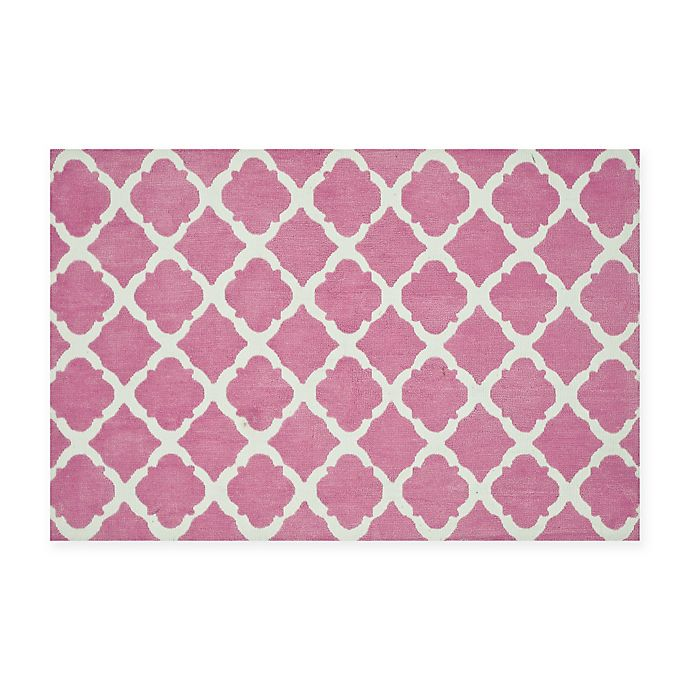 Alternate image 1 for Loloi Rugs Piper Rug in Bubble Gum Pink