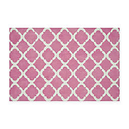 Loloi Rugs Piper Rug in Bubble Gum Pink