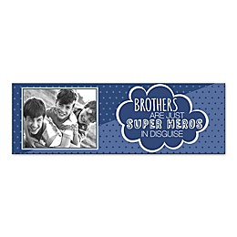 Siblings are Super Heroes in Disguise Canvas Wall Art