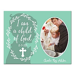 "Pied Piper Creative ""I am a Child of God"" Baptism Canvas Wall Art"