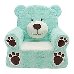 Plush Bear Sweet Seat Chair in Teal