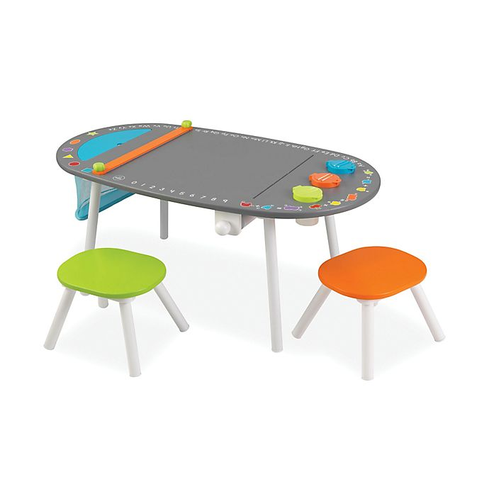 Kidkraft 174 Art Table With Two Stools Buybuy Baby