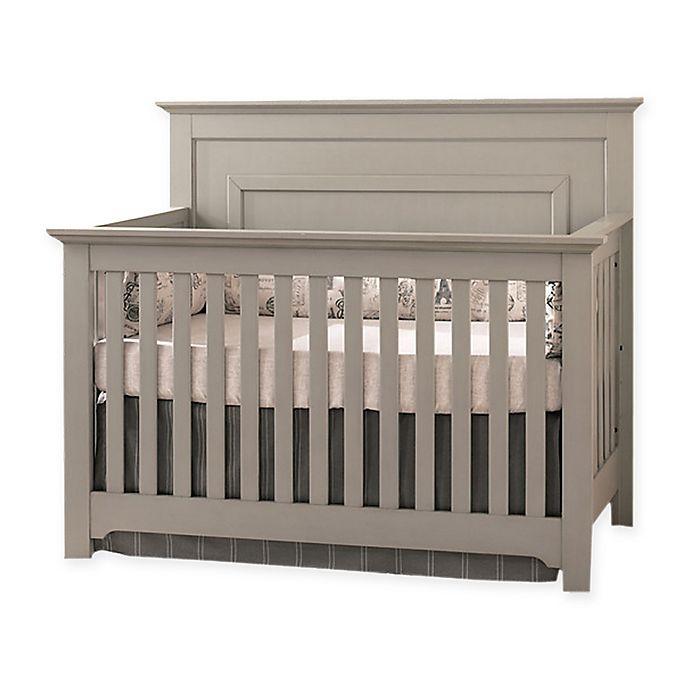 Alternate image 1 for Centennial Chesapeake Full Panel Crib in Light Grey