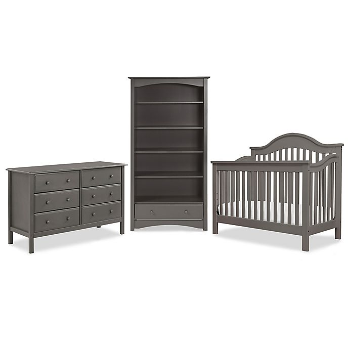 Alternate image 1 for DaVinci Jayden Nursery Furniture Collection in Slate