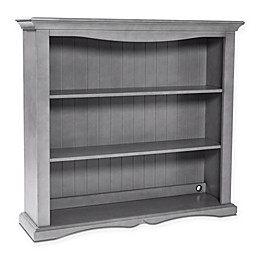 Westwood Design Meadowdale Wood Hutch/Bookcase in Cloud