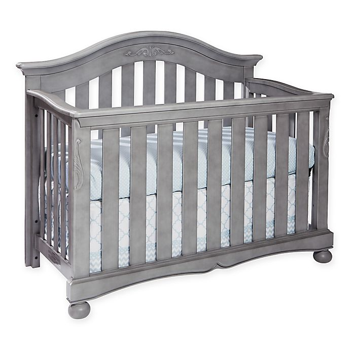 Alternate image 1 for Westwood Design Meadowdale Wood 4-in-1 Convertible Crib in Cloud