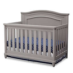 Simmons Kids® Barrington™ 4-in1 Convertible Crib in Grey