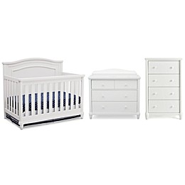 Simmons Kids® Barrington Nursery Furniture Collection in Bianca