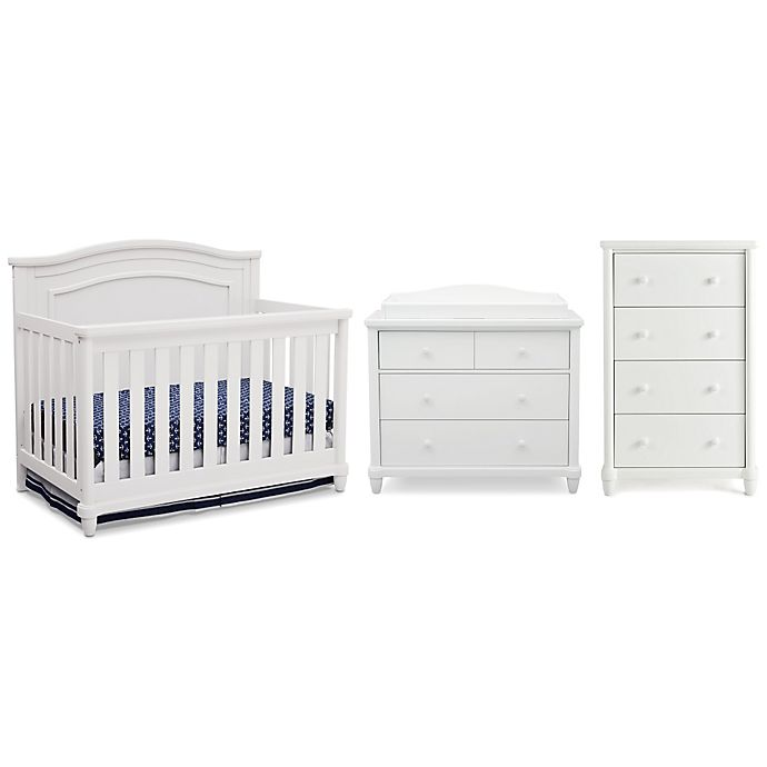 Simmons Kids Barrington Nursery Furniture Collection In