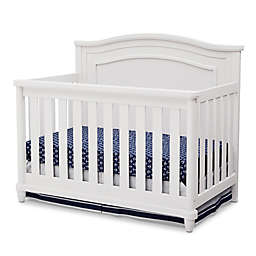 Simmons Kids® Barrington 4-in1 Convertible Crib in Bianca