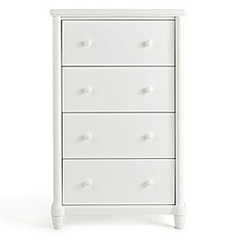 Simmons Kids® Barrington 4-Drawer Chest in Bianca