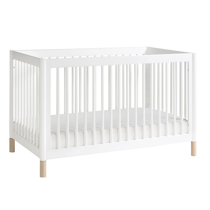Alternate image 1 for Babyletto Gelato 4-in-1 Convertible Crib with Toddler Bed Conversion Kit in White