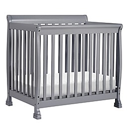 DaVinci Kalani 4-in1  Convertible Mini Crib in Grey