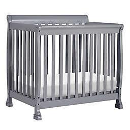 DaVinci Kalani 2-in1 Convertible Mini Crib in Grey