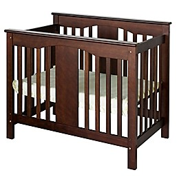 DaVinci Annabelle 2-in-1 Mini Crib and Twin Bed in Espresso