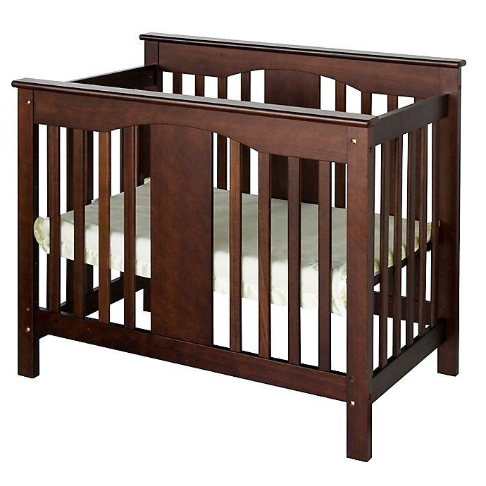 Alternate image 1 for DaVinci Annabelle 2-in-1 Mini Crib and Twin Bed in Espresso