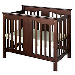 DaVinci Annabelle 2-in-1 Mini Crib and Twin Bed in Espresso