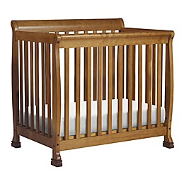 DaVinci Kalani 4-in-1 Convertible Mini Crib in Chestnut