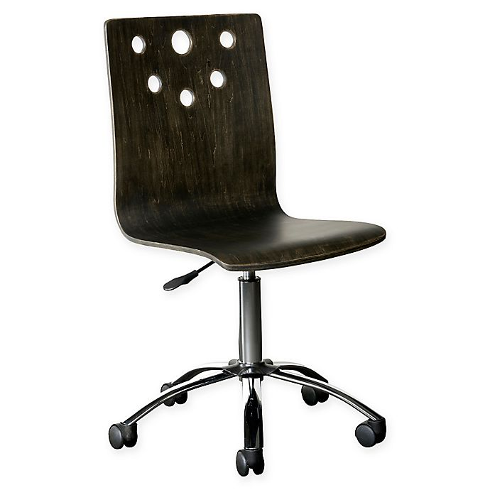 Alternate image 1 for Stone & Leigh™ by Stanley Furniture Smiling Hill Desk Chair in Licorice Black