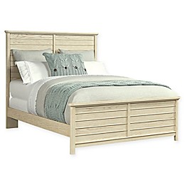 Stone & Leigh™ Driftwood Park Panel Bed in Vanilla Oak