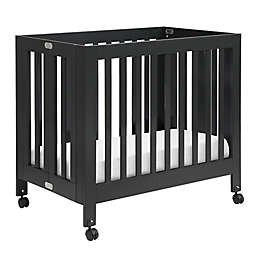Babyletto Origami Mini Crib in Black
