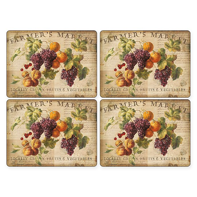 Alternate image 1 for Pimpernel Abundant Fall Placemats (Set of 4)