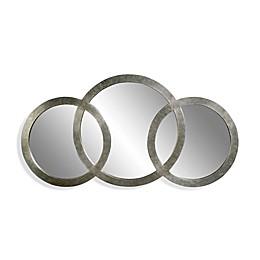 Bassett Mirror Company 58-Inch x 30-Inch Libra 3-Ring Mirror