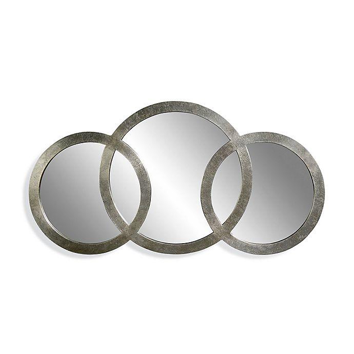 Alternate image 1 for Bassett Mirror Company 58-Inch x 30-Inch Libra 3-Ring Mirror