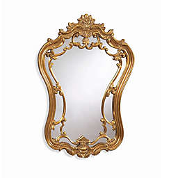 Bassett Mirror Company 24-Inch x 35-Inch Hermosa Mirror in Gold Leaf