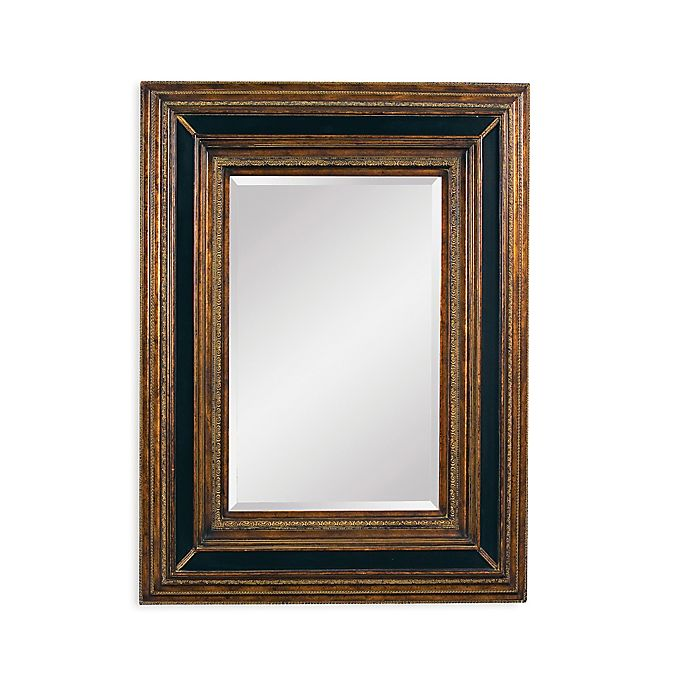Alternate image 1 for Bassett Mirror Company 43-Inch x 55-Inch Valejio Mirror in Ebony/Gold
