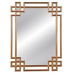 Bassett™ Frederick Wall Mirror in Gold Leaf