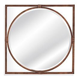 Bassett Mirror Company Belgian Modern 36-inch x 36-inch Sadie Wall Mirror