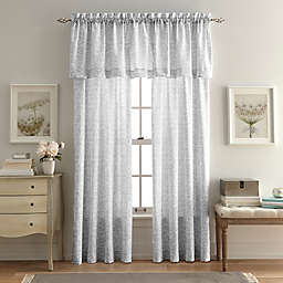 Bleecker Street Window Curtain Panels and Valance