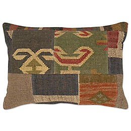 Patchwork Rectangle Throw Pillow