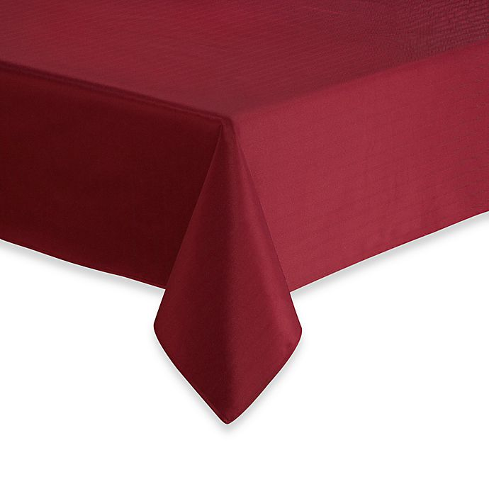 Alternate image 1 for Windsor Stain Resistant Tablecloth
