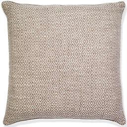 Aura Poly Diamond Square Throw Pillow