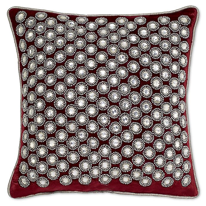 Alternate image 1 for Aura Square Throw Pillow