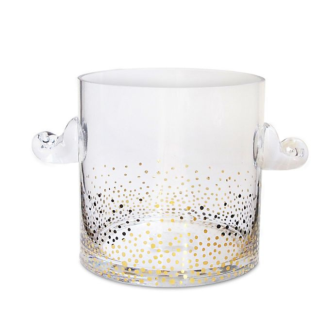 Alternate image 1 for Fitz and Floyd® Luster Ice Bucket in Gold