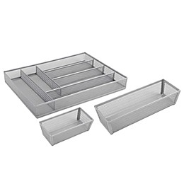 ORG Powder-Coated Mesh Drawer Organizers