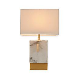 Madison Park Signature Davia Table Lamp in White