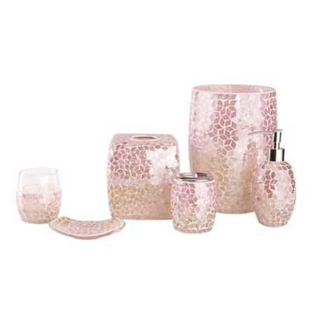 Mimosa Bath Accessory Collection In Pink Bed Bath Beyond