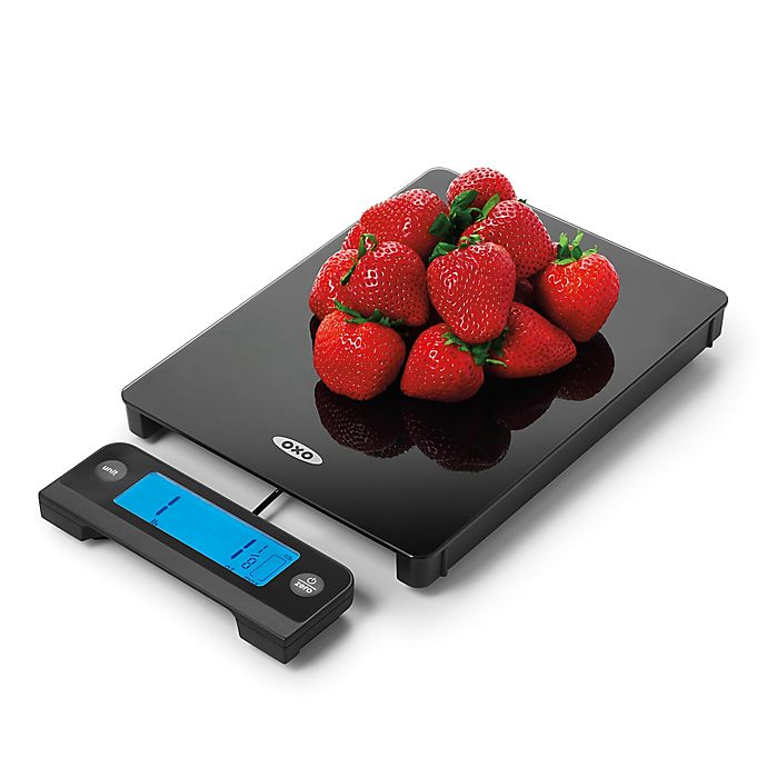 Oxo Good Grips 174 Glass Scale With Pull Out Digital Display