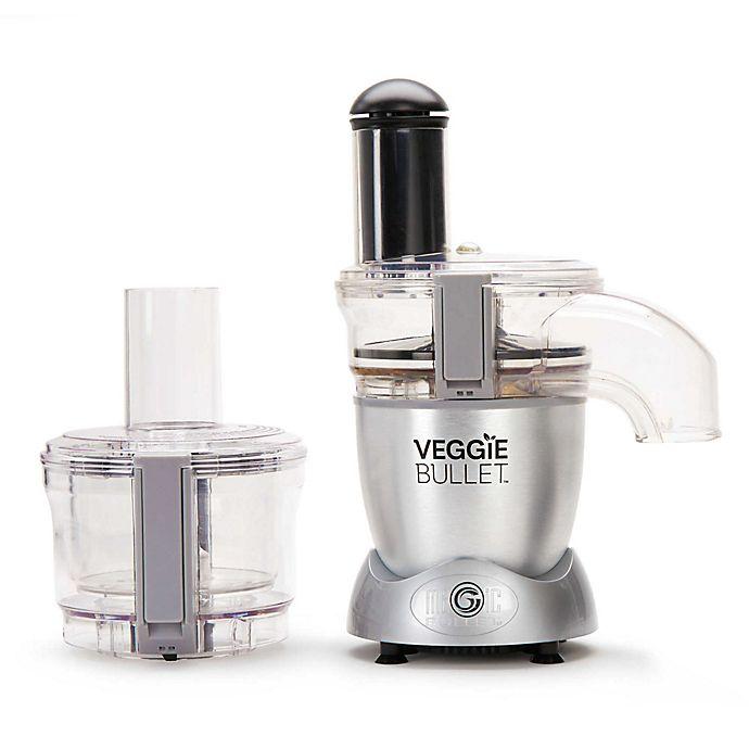 Alternate image 1 for Veggie Bullet® Electric Spiralizer & Food Processor