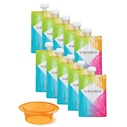 Baby Brezza® 10-Pack 7 oz. Easy Fill Reusable Food Pouches