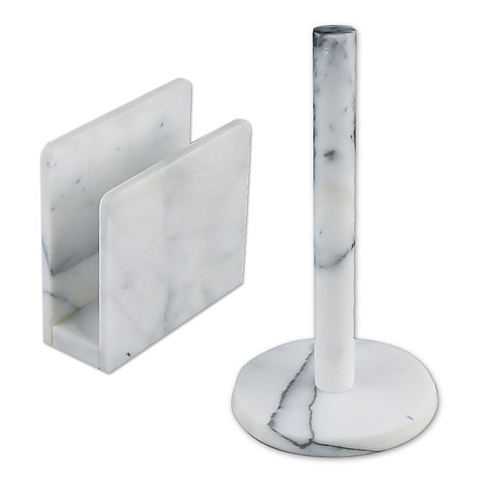 Bed Bath And Beyond Marble Paper Towel Holder